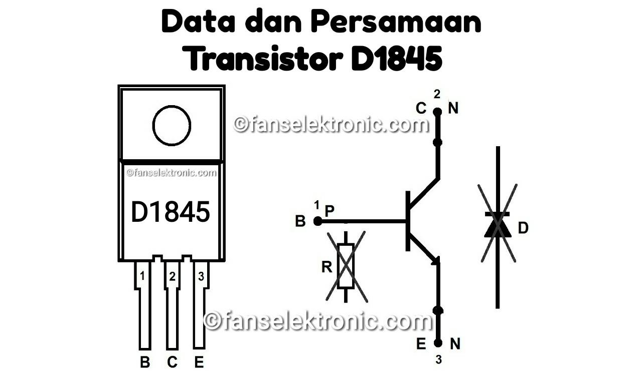 Persamaan Transistor D1845
