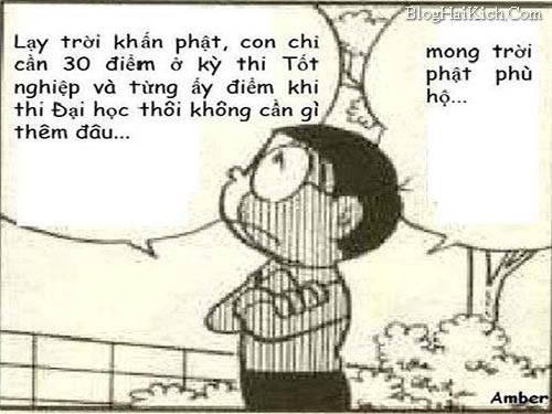 Nobita chế học tập thi cử