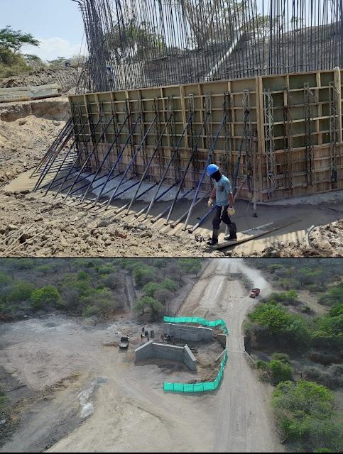 Pese al covid 19 en Riohacha se ejecutan obras