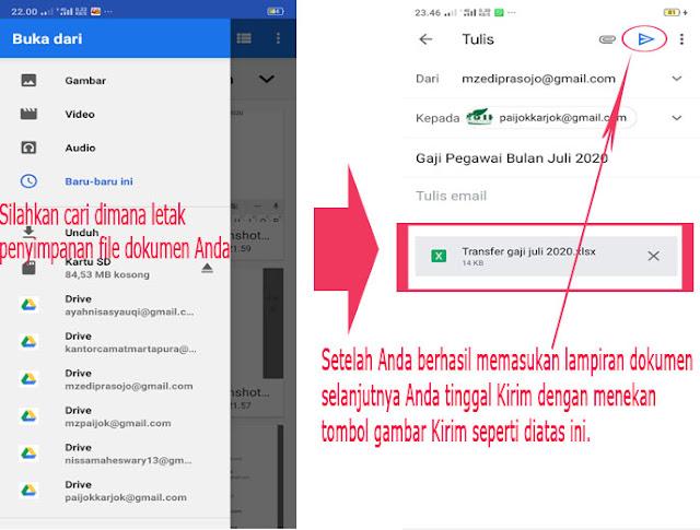 Cara Mudah Membuat Email Hanya Dengan Smartphone atau HP Android.