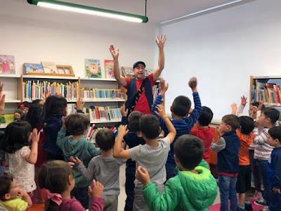 A bailar na Biblioteca Municipal de Lugo!!!