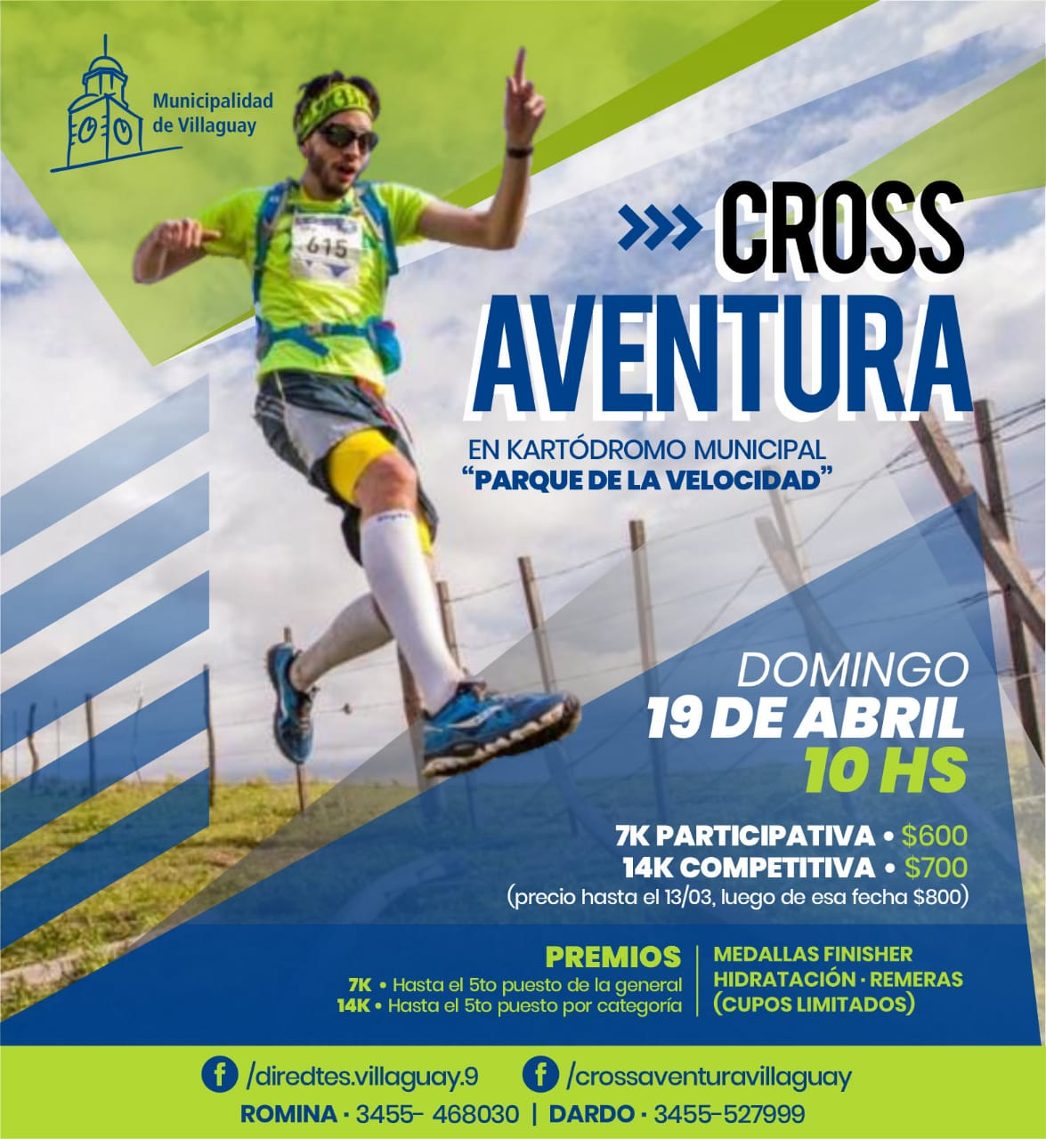 CROSS AVENTURA VILLAGUAY 2020