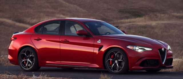 The Alfa Romeo Giulia starts at $ 38,990, or $73,595 for the Quadrifoglio