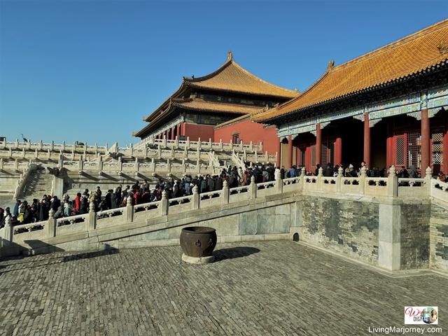 Winter season in Beijing