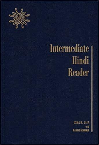 Intermediate Hindi Reader