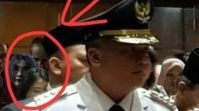 Foto Seram Ketika Pelantikan di Balai Kota, Ternyata Kasudin KUMKMP Jakbar