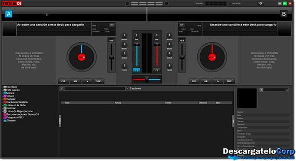 Virtual DJ Pro 8 Español Mezclador de Música Profesional