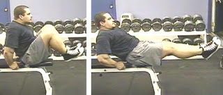 patada de rana entrenar abdominales