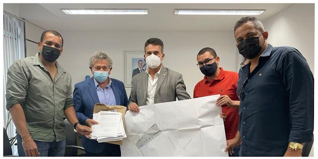 Deputado  indica ao governo construção de estádio de futebol em Rio do Pires