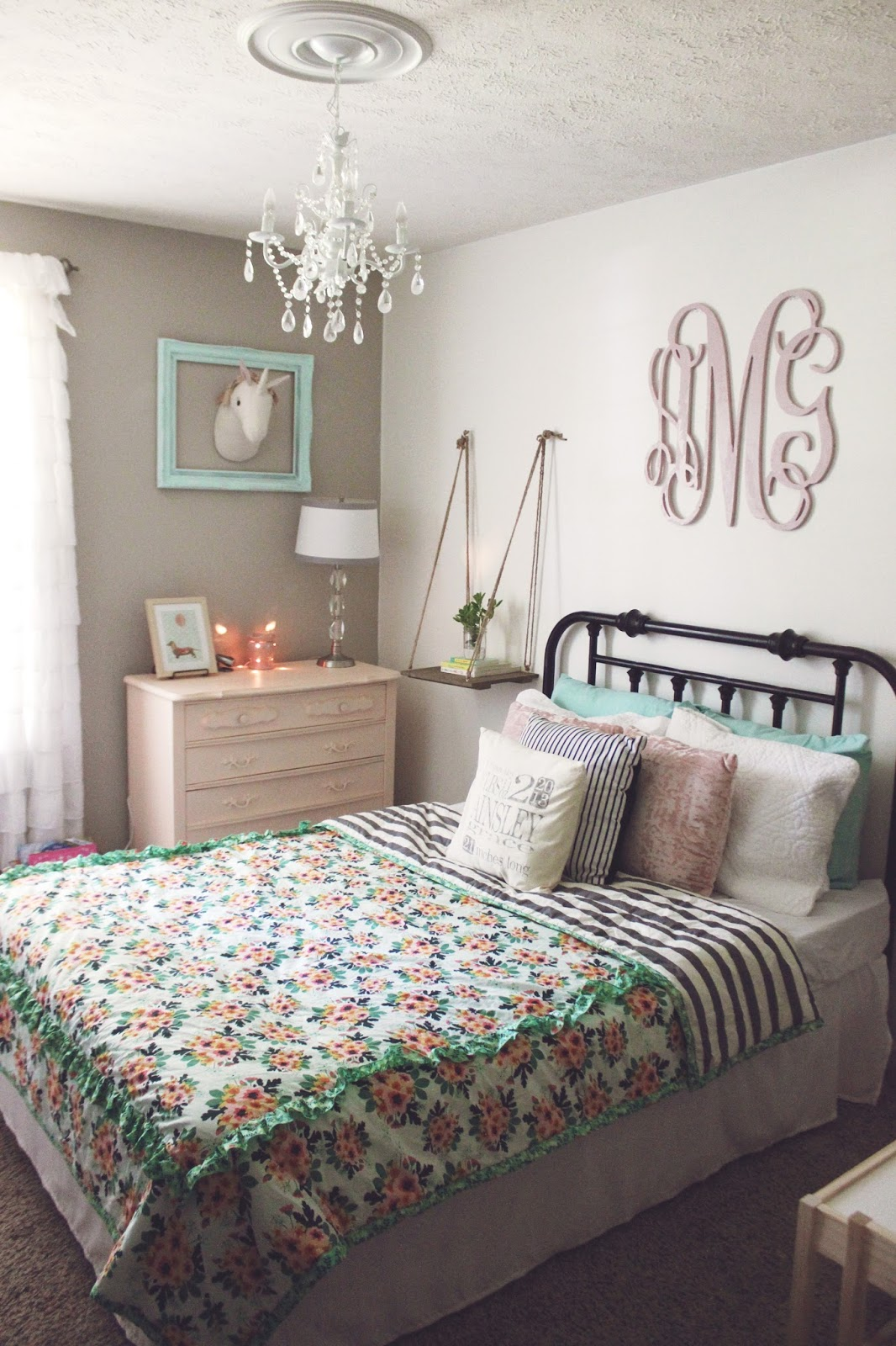 Some Kind Of Wonderful Ainsley S Big Girl Room Remodel