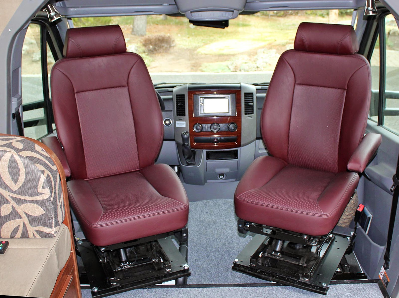 swivel chair mercedes sprinter ingenuity high 3 in 1 slate seat upgrade