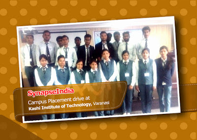 SynapseIndia Campus Placement Drive at KIT