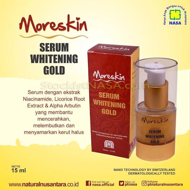 MORESKIN Serum Gold Nasa