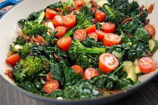 Italian Broccoli with Tomatoes (Italyan Domatesli Brokoli)