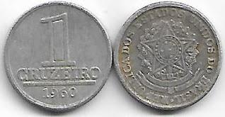 Moeda de 1 Cruzeiro, 1960
