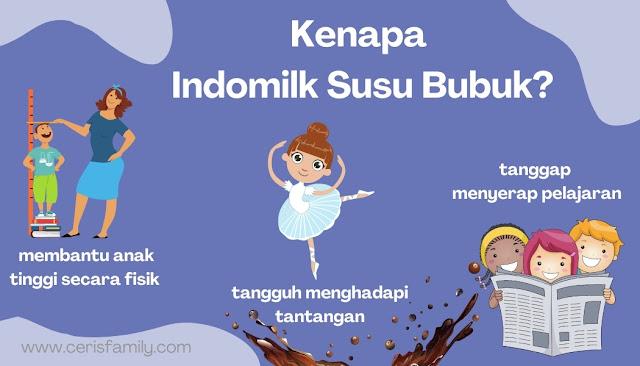 Susu Bubuk Untuk anak yang bagus