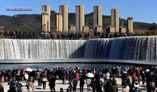 Air Terjun Terbesar Di Asia Yang Dibuat Manusia