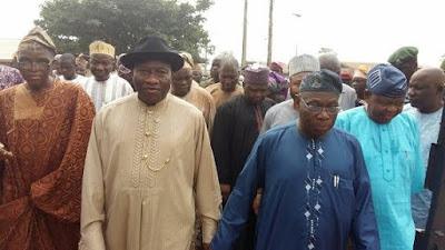 Obasanjo, GEJ