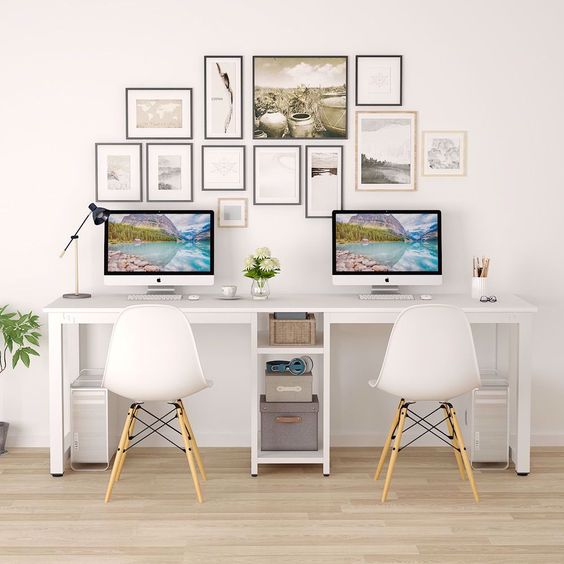Home Office Two Desks small
