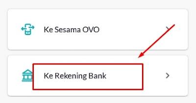 Topup ke Rekening Bank