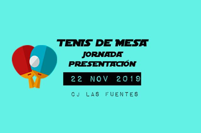 TENIS DE MESA: Jornada Presentación Temporada 2019-20