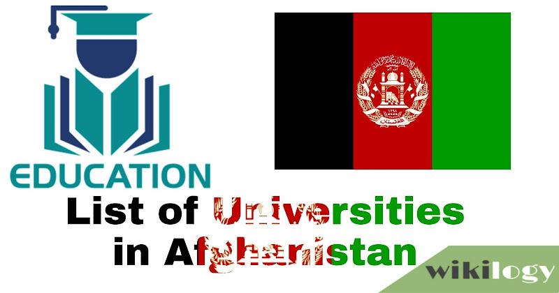 List of University in Afghanistan