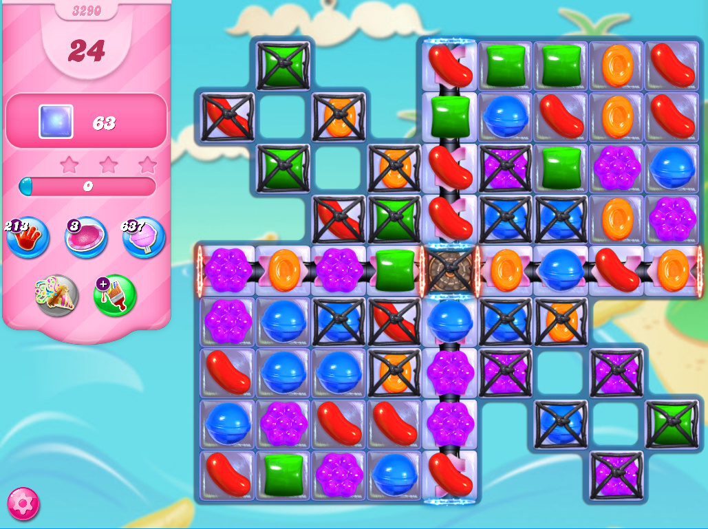 Candy Crush Saga level 3290