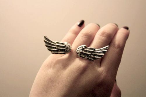Tendência: Anéis ; asas
