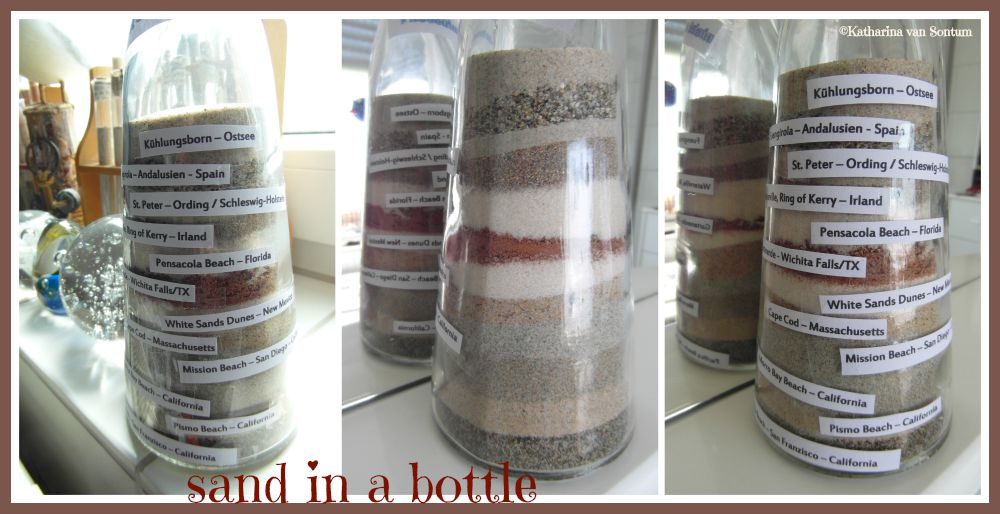 Ich Hab Da Mal Was Ausprobiert Sand In Der Flasche