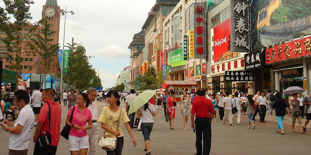 Image Attribute: Wangfujing street, Beijing / Source: Wikimedia Commons