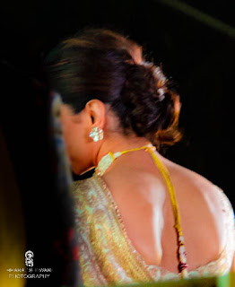 Deepika padukone in a backless dress. Photo: Bharat S Tiwari