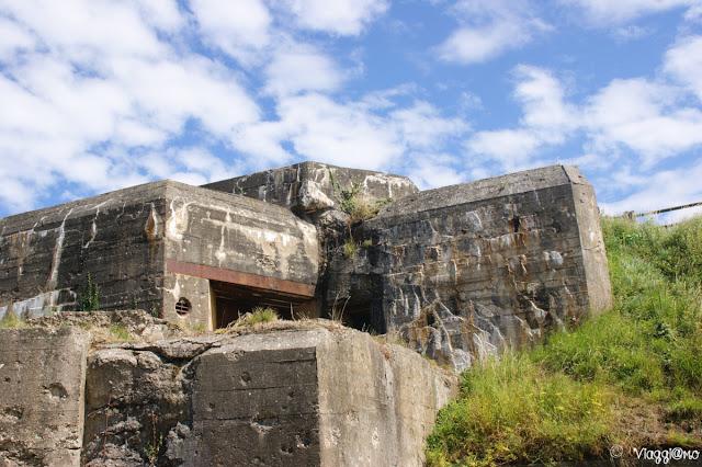 Parte del Bunker del Memorial 39/45 della Cité d'Aleth