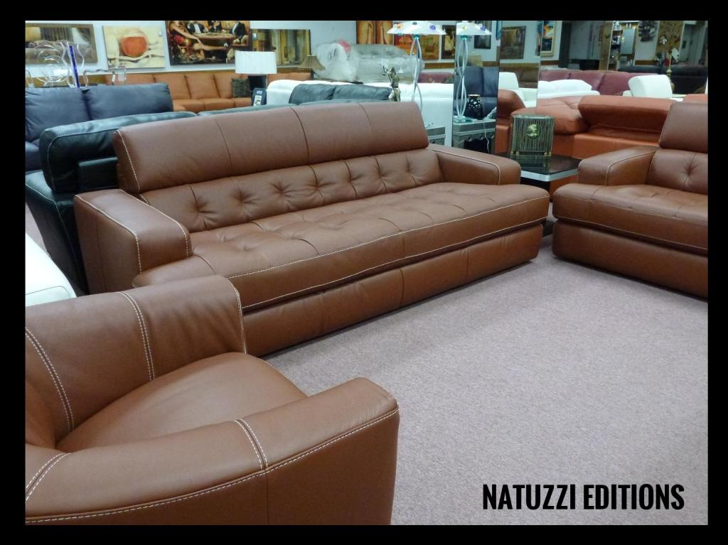 Natuzzi Editions B901 2 Seater Leather Sofa - The Place ... |Natuzzi Editions Leather Sofa