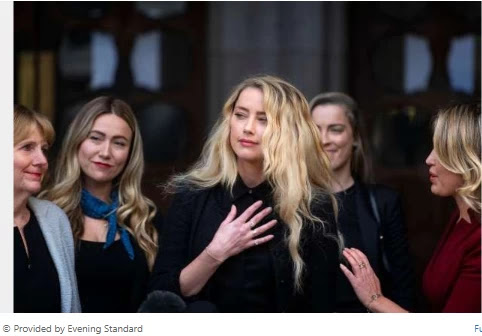 Amber Heard's parting shot as Johnny Depp libel trial in opposition to