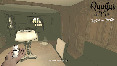Quintus And The Absent Truth Game Screenshot 1