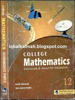 College Mathematics Key for Intermediate Math FSC & ICS Part 2