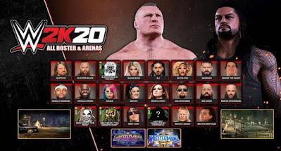تحميل لعبة WWE 2K20 للكمبيوتر