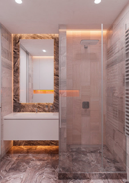 5x8 Bathroom Design