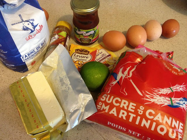 sweet kwisine, cuisine antillaise, gâteau, confiture, goyave, cannelle,