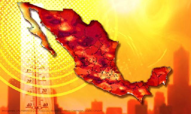 Habría temperatura de hasta 40 grados por oleada de calor del 2 al 4 de marzo: Procivy . UNAM