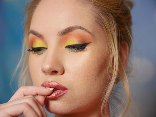 Bright & Bold Spring Makeup Look