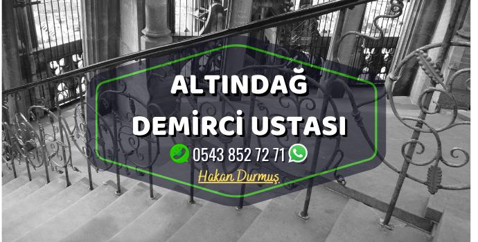 Ankara Altındağ Demirci Merdiven Demiri - Ferforje Demir - Balkon Demiri - Bahçe Demiri