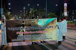 Penitential Walk for Life 2017