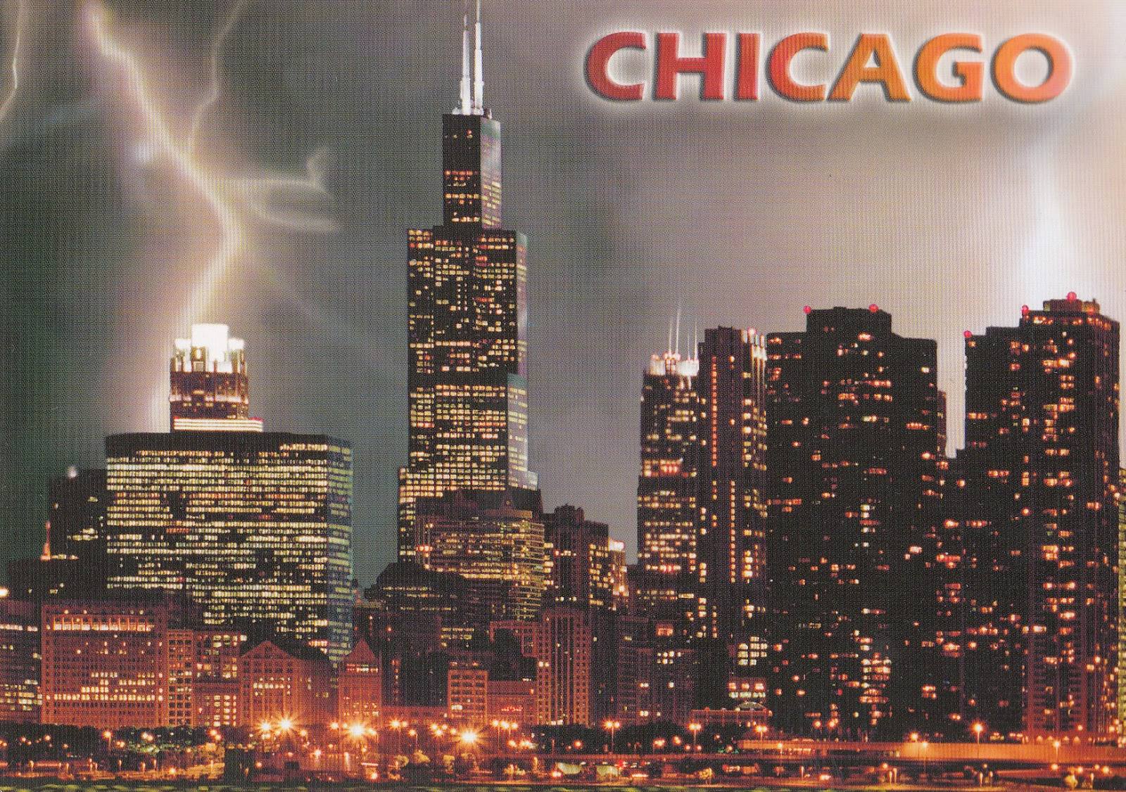 My Postcard And Stamp Week Usa Chicago