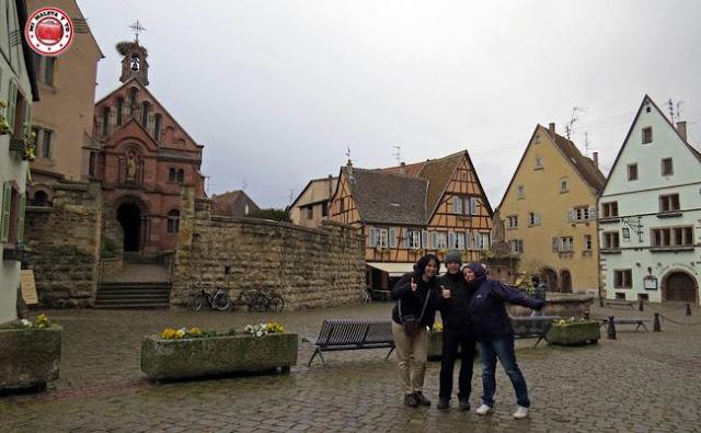 Eguisheim, Alsacia, Francia
