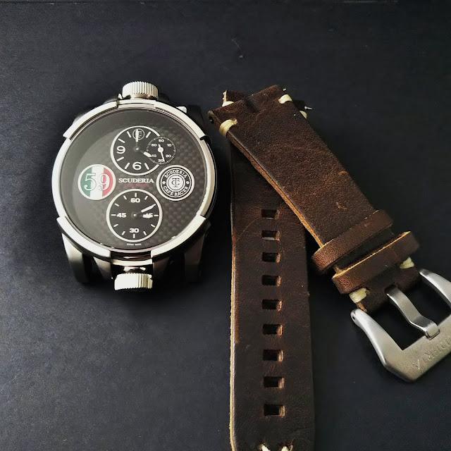 WATCH 腕時計 ウォッチ ベルト  公式 CT SCUDERIA CTスクーデリア Cafe Racer カフェレーサー Triumph トライアンフ Norton ノートン フェラーリ FIBRA DI CARBONIO フィブラ ディ カーボニオ CS10159