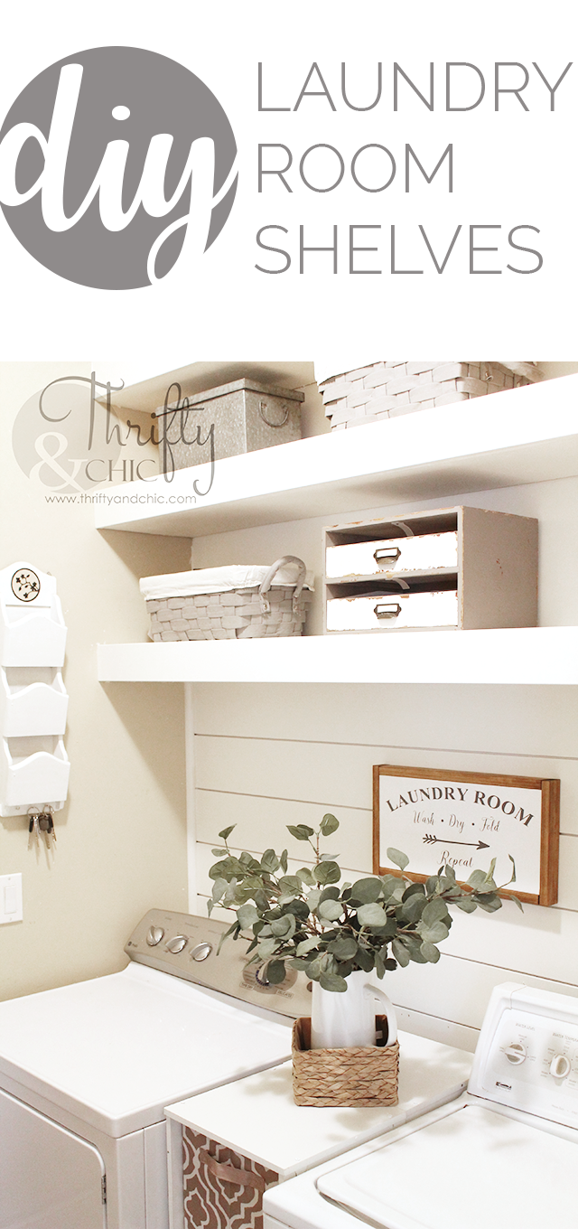 swider makeover laundry diy shelf and light simply bright reclaimed room shelves white