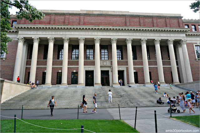 Widener Library, Universidad de Harvard