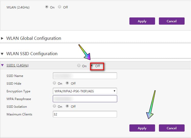 كيفية اغلاق wps في الراوتر te data الجديد