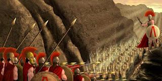 L'esercito di Sparta, riassunto scritto facile